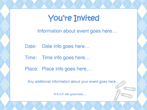 how to make diy baby shower invitations how to instructions