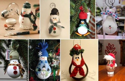 How To Make DIY Lightbulb Ornaments