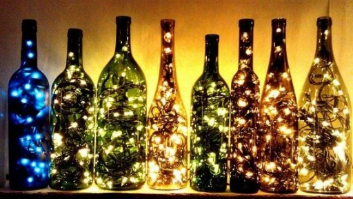 how to make outdoor lighting with wine bottles how to instructions
