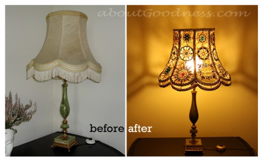 How To Make Wonderful DIY Lampshade
