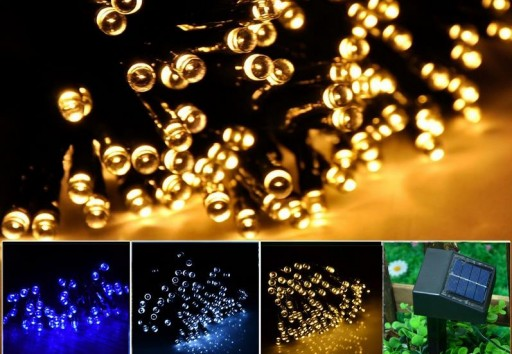 Light Up With LED Solar String Lights - Let's Be Greener!