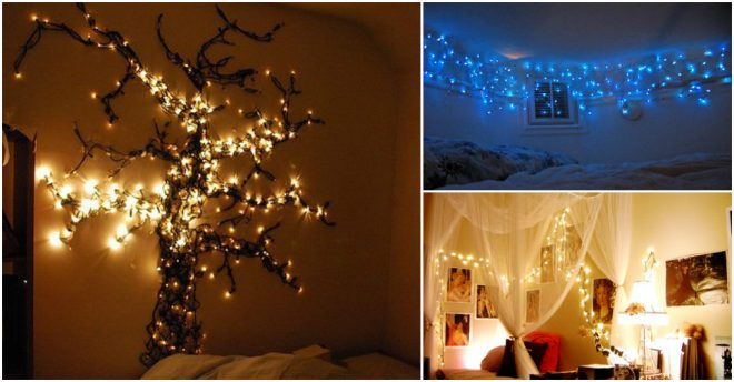 Creative Ways To Hang Christmas Lights In Bedroom