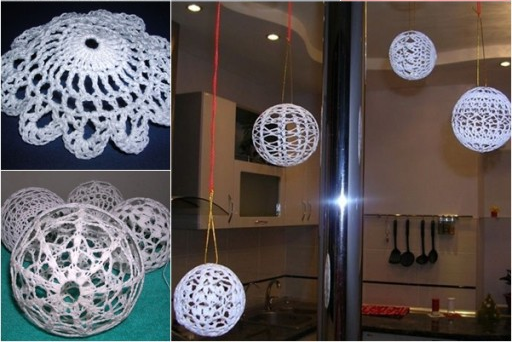Crochet Christmas Balls