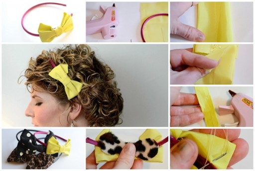 How To Make DIY Bow Headbands