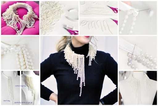 How To Make Dior Pearls Inspired DIY Beaded Necklaces
