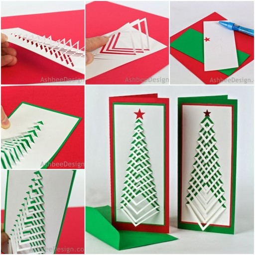How To Make Simple Christmas Cards