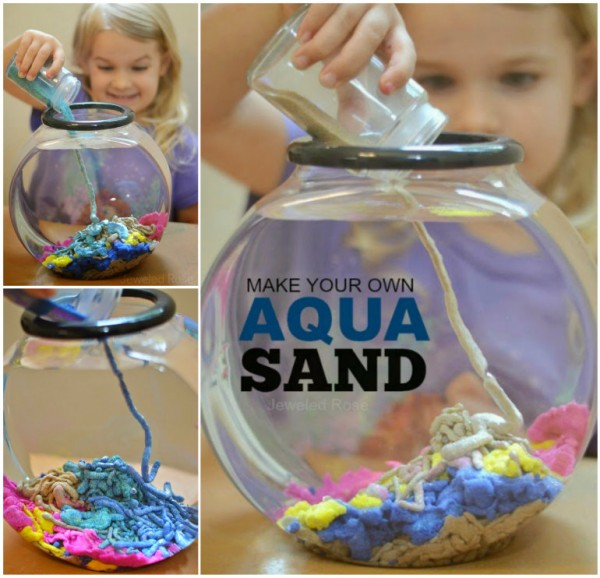 How To Make Your Own Aqua Sand