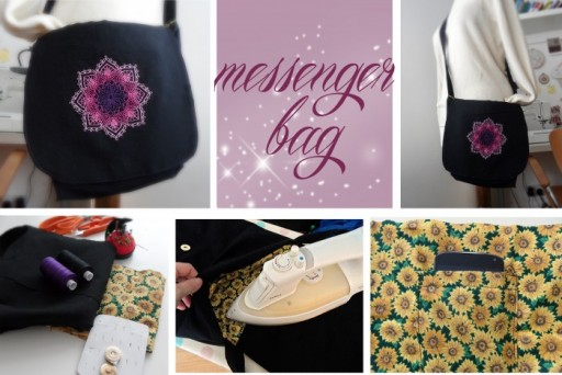 How To Sew DIY Messenger Bags