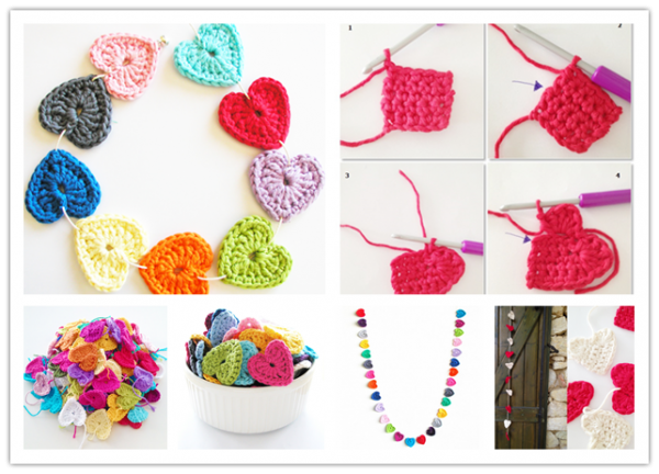 Free Crochet Heart Patterns