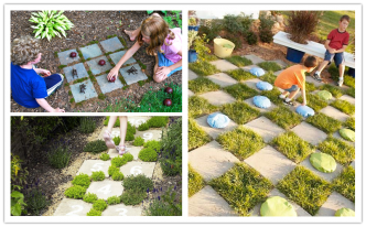 Garden Games For Kids - 3 Easy DIY Projects