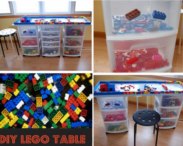 How To Build A Lego Table 1