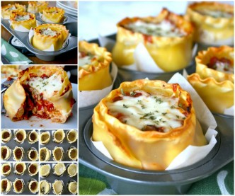 How To Cook Delicious Lasagna Cups 1