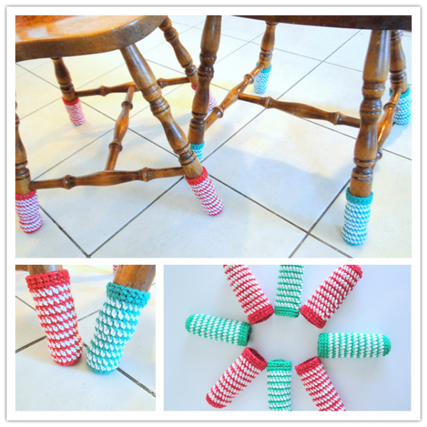 How To Crochet Cute Chair Socks