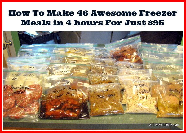 How To Make Awesome Freezer Meals
