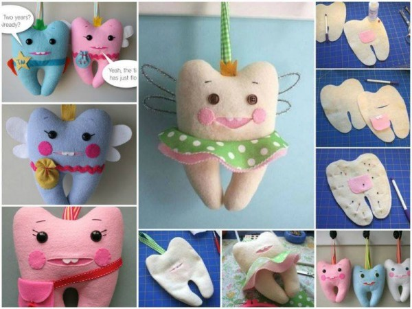 How To Make Cute Tooth Fairy Pillow