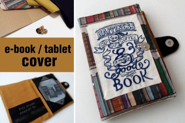 How To Make DIY Ebook Reader Cover