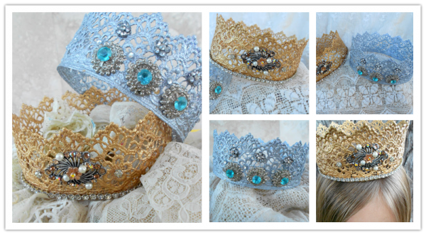 How To Make DIY Lace Crowns