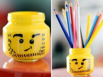How To Make DIY Lego Pencil Holder