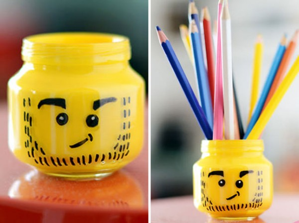 How To Make DIY Lego Pencil Holder