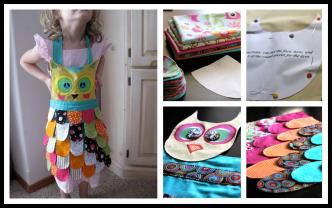 How To Make DIY Owl Apron