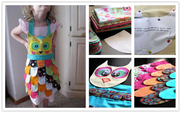 How To Make DIY Owl Apron