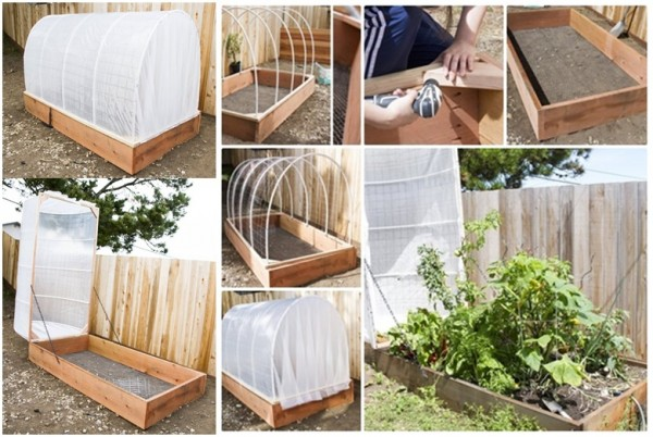 How To Make DIY Removable Greenhouse Cover