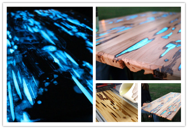 How To Make Glow In The Dark Coffee Table