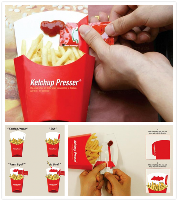 Ketchup Presser No More Sucking Ketchup On Your Fingers