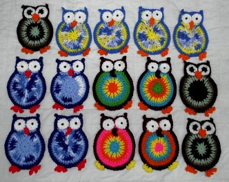 Make Your Own Coasters With Free Hooty Owl Coaster Crochet Pattern 2