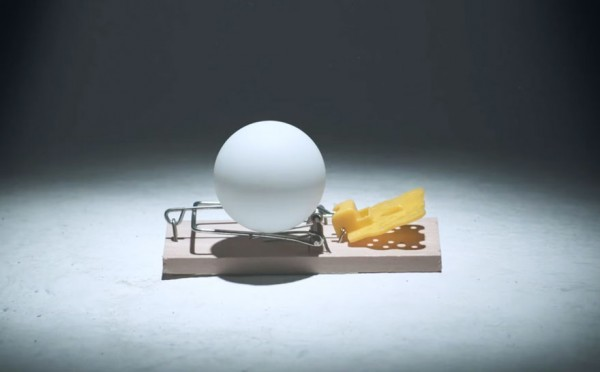 Ping Pong Ball Mouse Trap 3