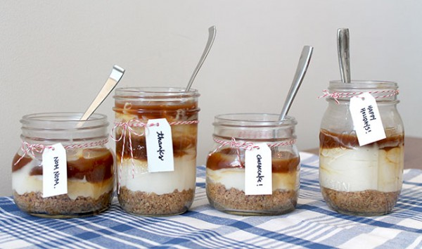Salted Caramel Cheesecakes 1