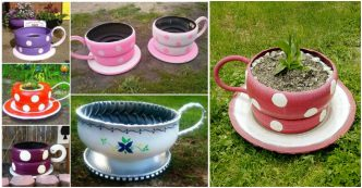 tire teacup planter instructions