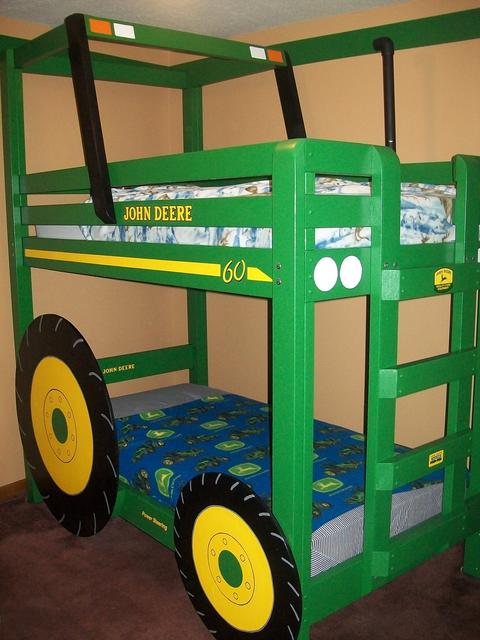 Tractor Bunk Bed Plan 1
