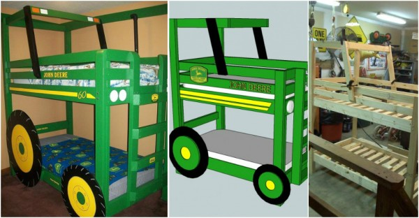 Tractor Bunk Bed Plan