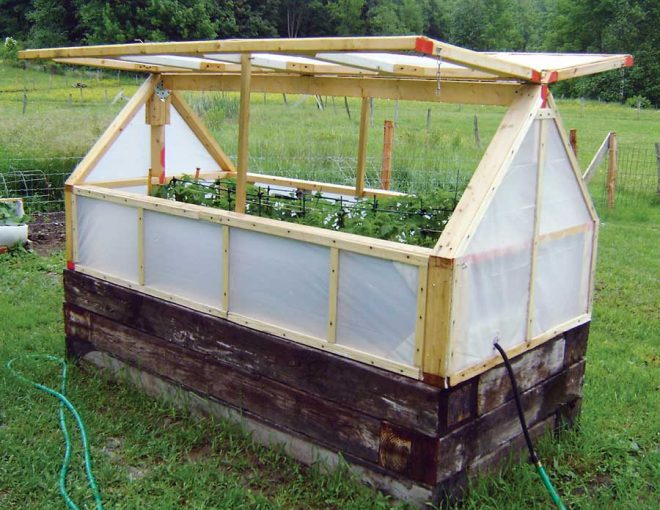 DIY Greenhouse Tutorial