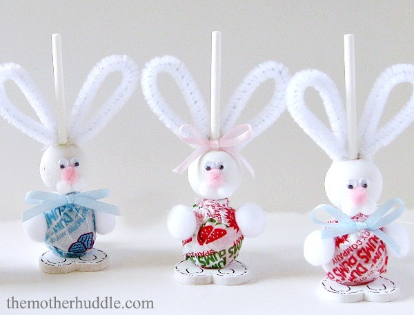 Easter Bunny Suckers Tutorial 1