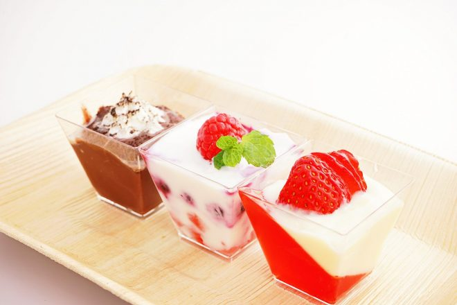 Jello Strawberry Parfait