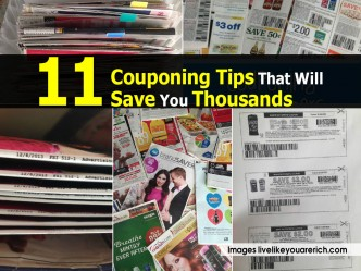 11 Couponing Tips To Save Money