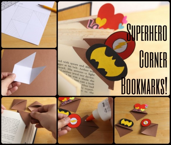 Cool SuperHero Bookmarks 1