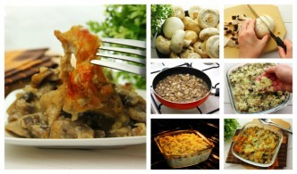 How To Cook Mushroom Casserole