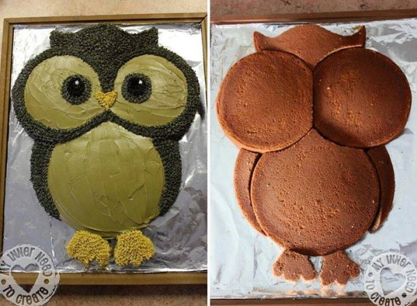How To Make An Owl Cake How To Instructions