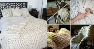Knit Blanket - Gigantic One