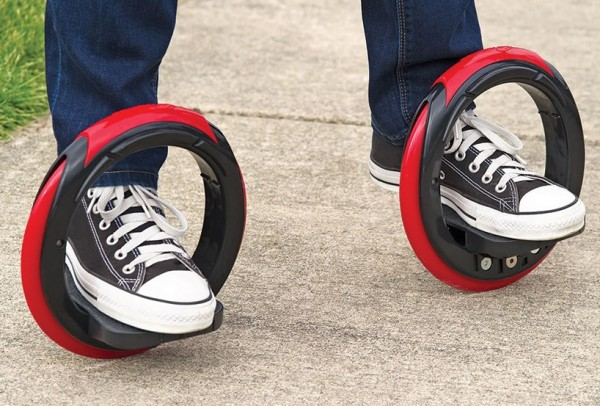 Ripstiks Are Out! Watch How To Play Hammacher Schlemmer's Sidewinding Circular Skates