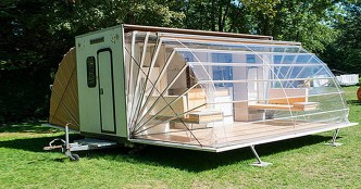 Transformable Design - When Transformers Meet Camping Trailers