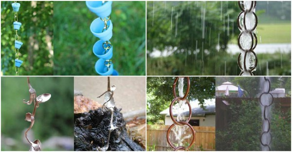 11 Creative Rain Chain Ideas