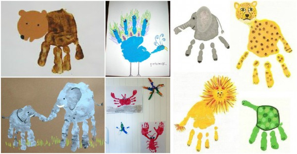 20+ Art Ideas With Footprints And Handprints