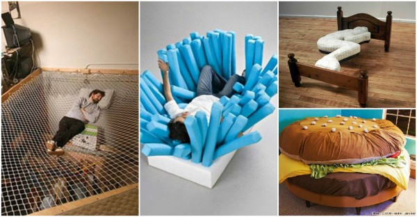 29 Weird Beds For Creative People