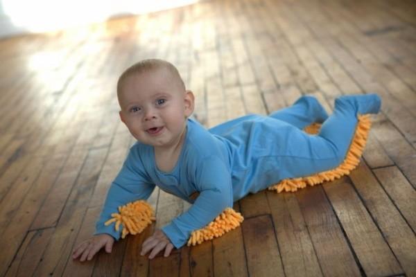 Baby Mop Onsies