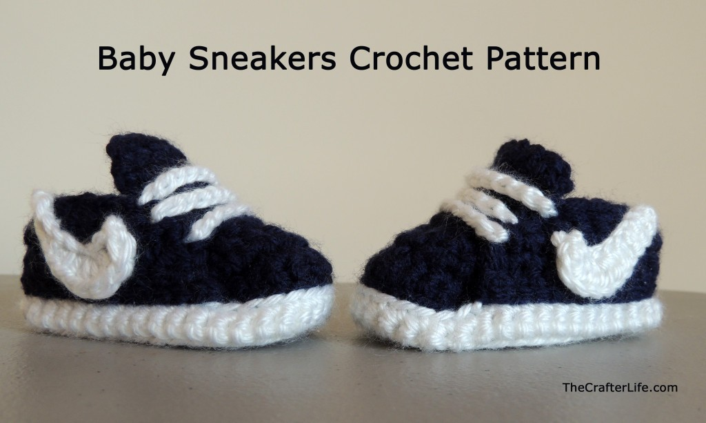 Baby Sneakers Free Crochet Pattern 1