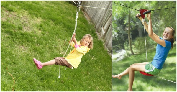Backyard Kids Zipline